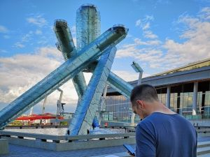 Outspotter | Olympic Cauldron, Vancouver