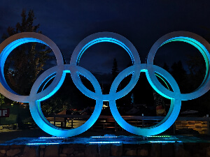 Outspotter | Whistler | Olympic Rings